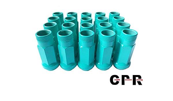 CPR offenen Ende 17hex Stahl Rad Lug Muttern 20/St/ück M12/x 1,5/schwarz