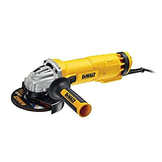 Dewalt DWE4237-QS Mini-amoladora 125 mm 1.400W 11.500 rpm, Negro y amarillo