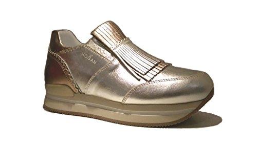 Hogan , Chaussons de gymnastique pour femme or or Or