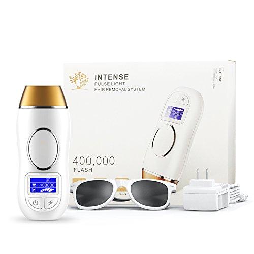 IPL Haarentfernungsgerät Dauerhafte Haarentfernung Professionel 400000 Lichtimpulsen Haarentfernungsgerät zum Zuhause Schönheit Benutzen