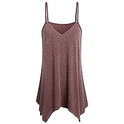 Moda Mujeres Camisas sin...