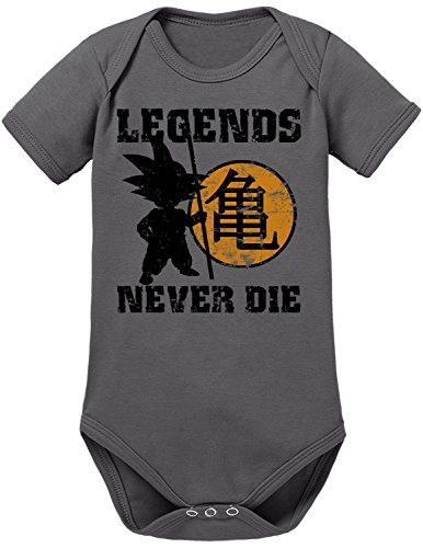 TLM Legends never Die Babybody 74 (2 Goku Saiyajin Kostüm Son Super)