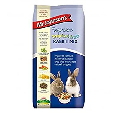 Leeway SUPREME WITH TROPICAL FRUIT RABBIT MIX - FOOD - VARIOUS SIZES - MR JOHNSONS by LEEWAY