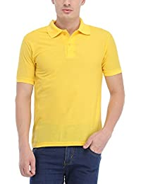 Trendy Trotters Yellow Polo Cotton T-Shirt