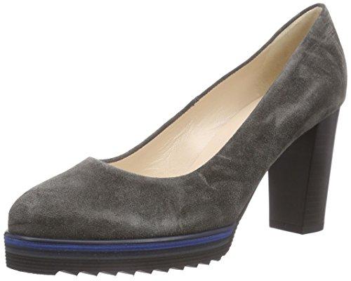 Peter Kaiser Finna, Chaussures à talons avec plateau femme Gris - Grau (CARBON SIGA NOTTE  SOHLE 487)