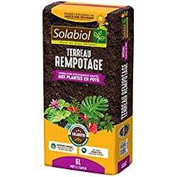 Solabiol TEREMPO6 Terreau Rempotage   Utilisable en Agriculture Biologique, 6L, 6 L