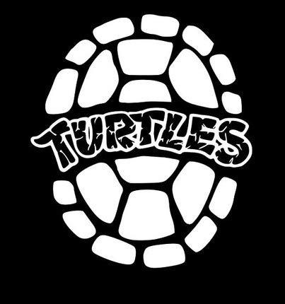 Makarios LLC TMNT MKR663 Turtle Shell für Autos, Trucks, Lieferwagen, Wände, Laptop, MKR, 5,5 x 4,75 Zoll, (Baby Raphael Kostüm)