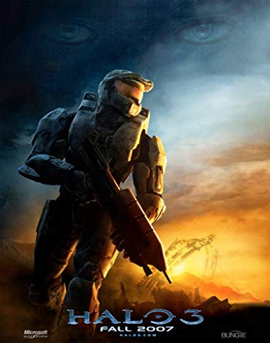HALO 3 - Master Chief - Imported Video Game Wall Poster Print - 30CM X 43CM Brand New