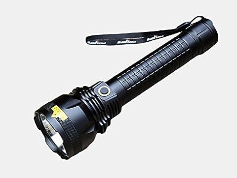 XQF Lampe De Poche Rechargeable Imperméable Projecteur Super Brillant