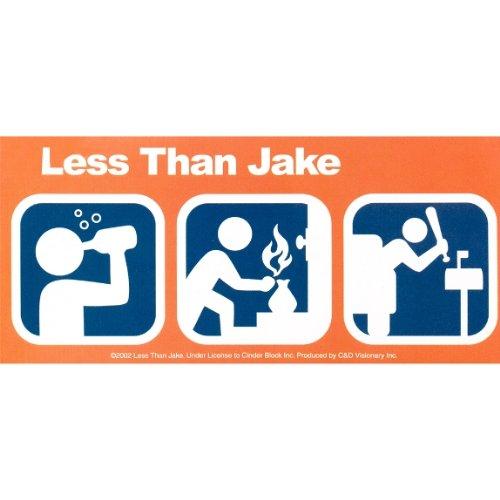 Weniger als Jake–Symbole Aufkleber (Weniger Als Jake)
