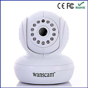 Camera de Surveillance Wifi Motorisée Vision Nocturne avec Interface Ipad Iphone, smartphone et tablet Android