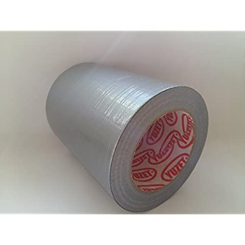Yuzet-4 grandi di 150 mm, colore argento e Tex-Rotolo di nastro Gaffa Tape Duct imballaggio