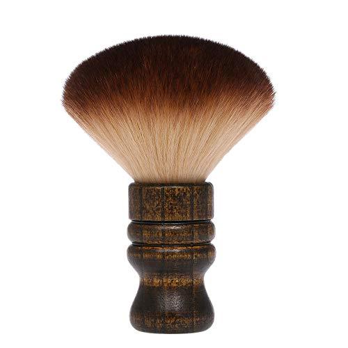 Anself Barbiere collo spazzola, Barbiere Collo Spolverino Pennello pulizia capelli spazzare spazzola parrucchiere pulire capelli spazzola viso