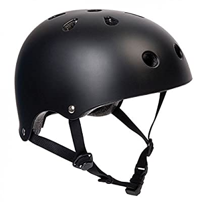 SFR Skateboard / Scooter / Inliner / Rollschuh Schutz Helm - Schwarz - Bmx, Inliner, Longboard Helm - Schutzausrüstung Skateboard Helm, Grösse:L/XL 57-59cm