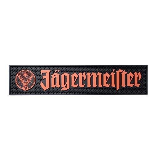Jägermeister Barmatte Thekenmatte Abtropfmatte - 59 x 12,9 cm Geschenk