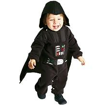 RS311609, traje de Star Wars Darth Vader, incluyendo la capa y el sombrero, un mono de tamaño 18 meses - 2 años, traje dulce para el Carnaval y el Carnaval