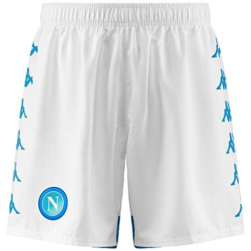 SSC Napoli Pantalones de juego blancos, blanco, xxl