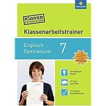 Klasse vorbereitet - Gymnasium: Klassenarbeitstrainer Englisch 7: mit Audio-CD
