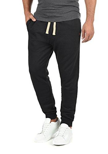 BLEND Tilo Herren Jogginghose Sweat-Pants Sporthose aus hochwertiger Baumwollmischung, Größe:L, Farbe:Black (70155)