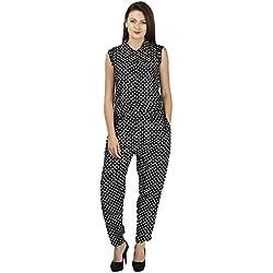 385c5b44e68f My Swag Women s Printed Jumpsuit (JPS-00103-BK L