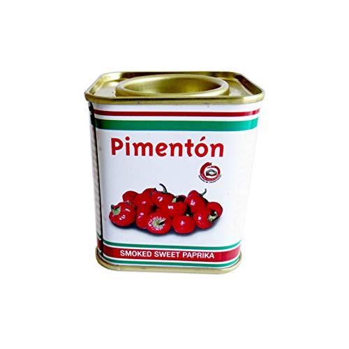 Pimenton FRISAFRAN - Lata metalizada 75 gramos. (Ahumado Dulce)