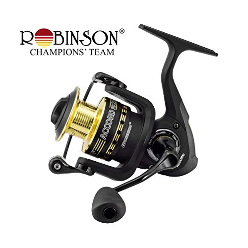 Robinson Accord FD universale Angelrolle Spinnrolle mit Alu-Spule/Frontbremse FD256 / 324g / 5,2:1 / 72cm