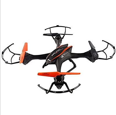 Yacool® UDI U818S Large Rc Quadcopter 2.4g Remote Control Drone UFO with 5MP Camera Colorful LED Light(Black)