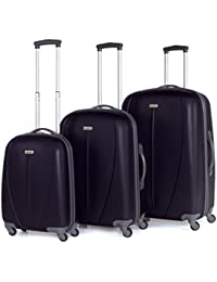 TEMPO TROLLEYS UNI ABS - Set Trolley 50/60/70CM, Material ABS, Color Marino