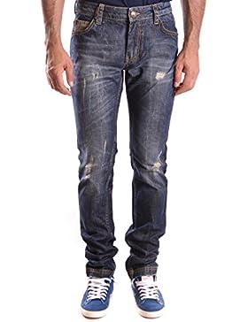 Frankie Morello Hombre MCBI125085O Azul Algodon Jeans