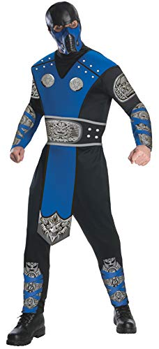 Rubie 's Offizielles Mortal Kombat Sub-Zero, Erwachsene (Mortal Kombat Subzero Für Erwachsenen Kostüm)