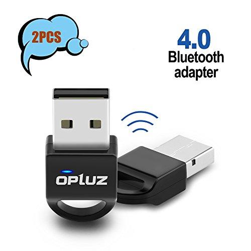Bluetooth4.0 Adapter 2, Bluetooth4.0 Netzwerk-Adapter für Bluetooth Lautsprecher, Bluetooth Headset, Smartphone & Tablet,-Bluetooth Drucker, Projektor, PC/Netbook