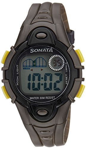 41 De1fPtFL - Sonata 87012PP01 Mens watch