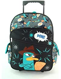 Full Pow Agent P Rolling Mochila - Phineas and Ferb Phineas y Ferb Maleta con Ruedas