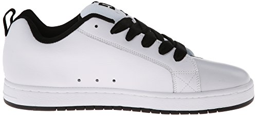 DC Shoes Court Graffik, Chaussures de skate homme Bianco (White/Black/White)