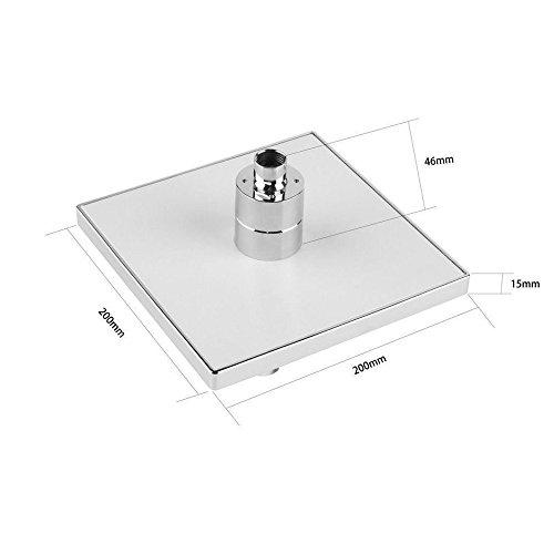 LED Handduschen Stoga Duschkopf LED 3 Farben Temperatur kontrolliert Niederschlag Top Spray Badezimmer Duschkopf -