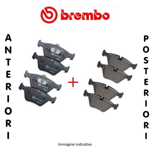 Kit 4 pastiglie freno anteriori + Kit 4 pastiglie freno posteriori Ecommerceparts 9145375088268