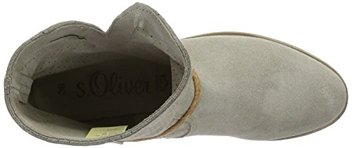 s.Oliver 25313, Stivali a Gamba Larga Donna Beige (TAUPE 341)