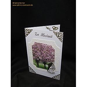 3D Grußkarte Hochzeit, Art. 2772