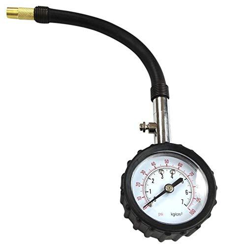 XLTWKK Medidor de presión de neumáticos de Motor de Bicicleta de Coche portátil medidor de presión...