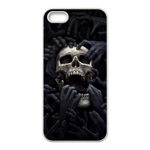Dark Souls coque iPhone 5 5S Housse Blanc téléphone portable couverture de cas coque EBDXJKNBO15688