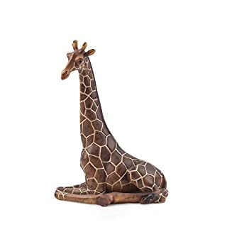 pajoma Dekofigur Giraffe, sitzend, Höhe 31 cm