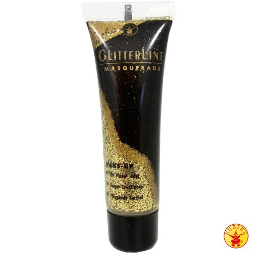 Glitterline Glitzergel für Haut und Haar gold