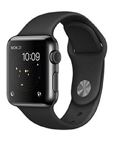 Estar Bluetooth Smart Watch Compatible with all 3G , 4G Phone With Camera and Sim Card Support With Apps like Facebook and WhatsApp Touch Screen Multilanguage Android/IOS Compatible with all Android, Samsung, iPhone , Lenovo, XIOMI, REDMI Oppo, VIVO, Motorola,IOS, Windows with activity trackers and fitness band features (A1 Black)