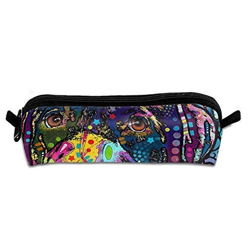 Dean Russo Pen Pencil Stationery Bag Makeup Case Travel Cosmetic Brush Accessories