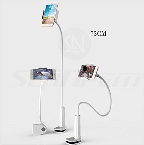 Inpay - 360 Giratoria Flexible Brazo Largo Teléfono Movíl Titular de Soporte de Escritorio Accesorio Peresozo Soporte de Montaje para Iphone Ipod Touch de Samsung Nota HTC uno Google Nexus 5 (75cm)