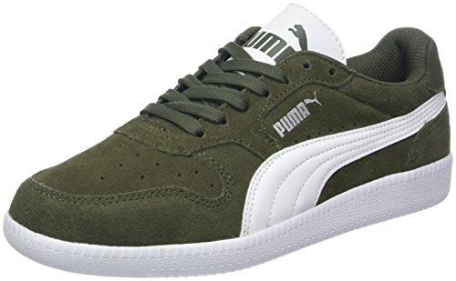 Puma Unisex-Erwachsene Icra Trainer SD Sneaker, Grün (Forest Night White 37), 39 EU