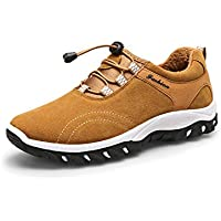Chaussures de Randonnée en Plein air pour Hommes 2018 Printemps Automne Grande Taille Trekking Chaussures de Sport Occasionnels Baskets Basses (Couleur : B, Taille : 42)