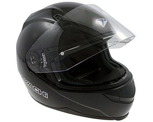 Casco integral, Roller Casco Casco de Moto, takachi TK41Negro