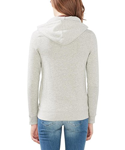 edc by Esprit 106cc1j008, Sweat-Shirt Femme Gris (Light Grey 5)