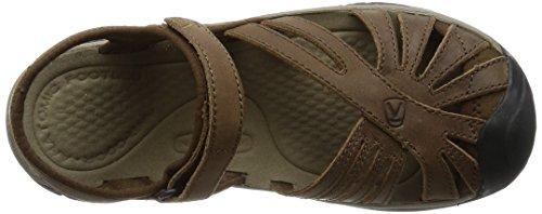 Keen Rose Leather Women's Sandal De Marche - SS16 brown